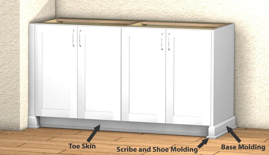 base cabinet millwork
