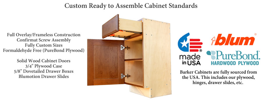 rta cabinet specifications