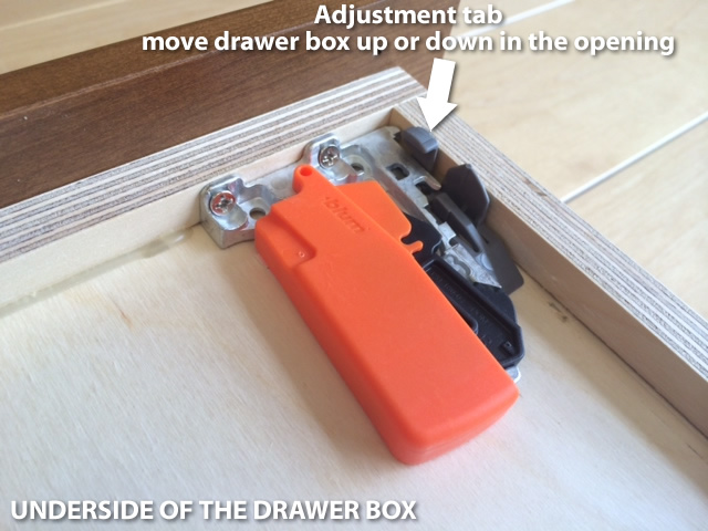 Adjust Doors And Drawer Fronts