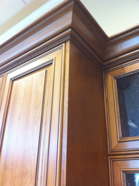 Finished End Panel Applied Door Tall Cabinets