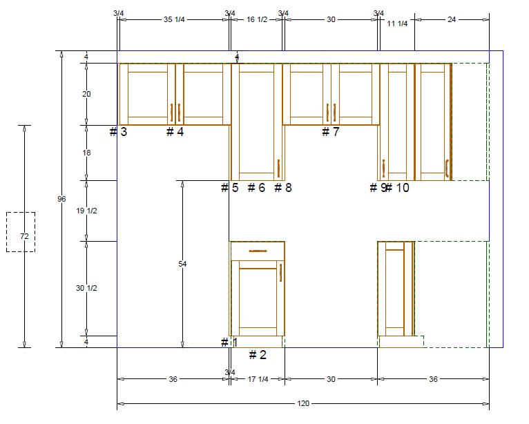 Kitchen designs designers kitchen 10 x 10 kitchen design for Kitchen design 9 x 10