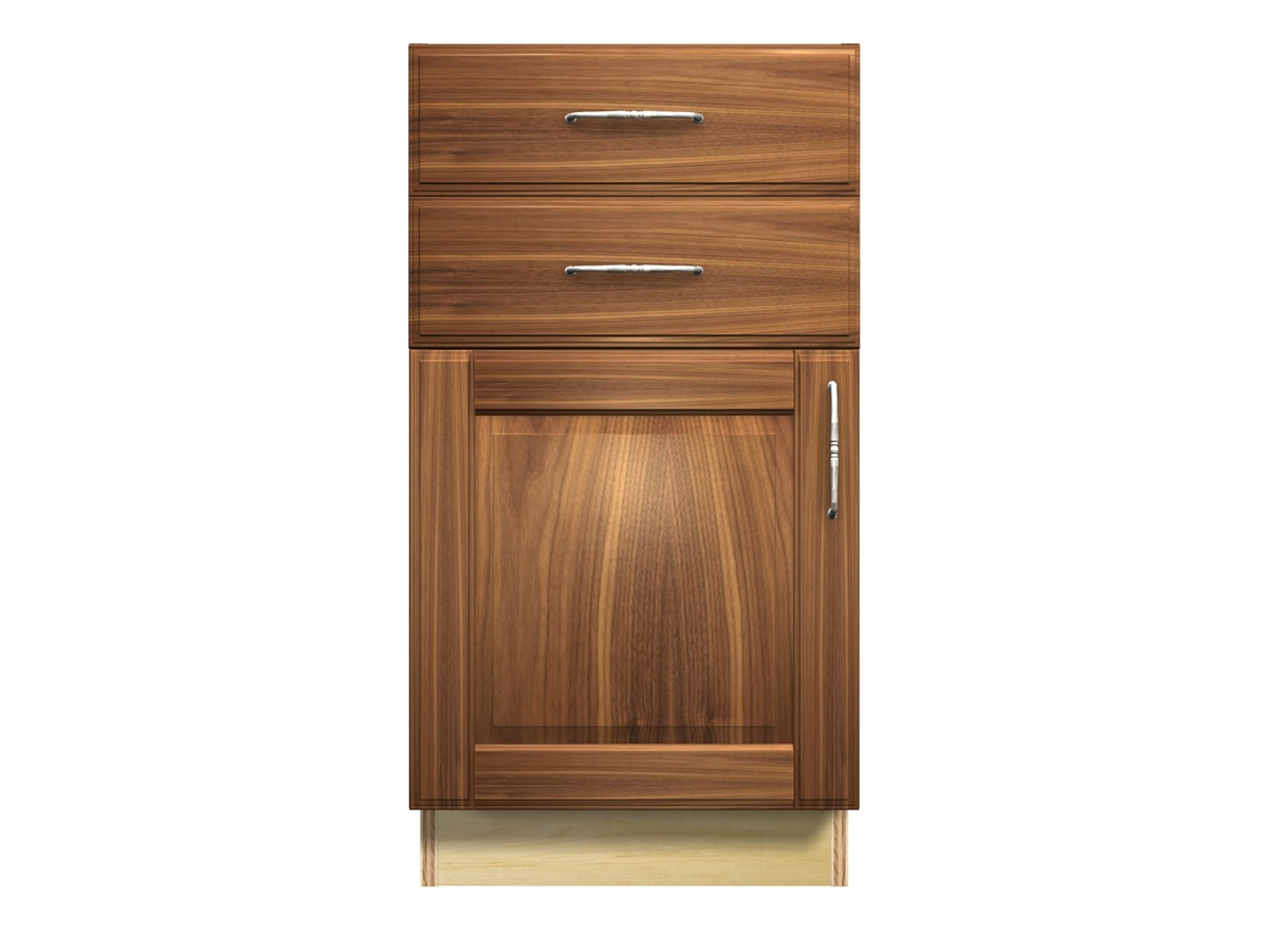 1 Door And 2 Drawer Base Cabinet