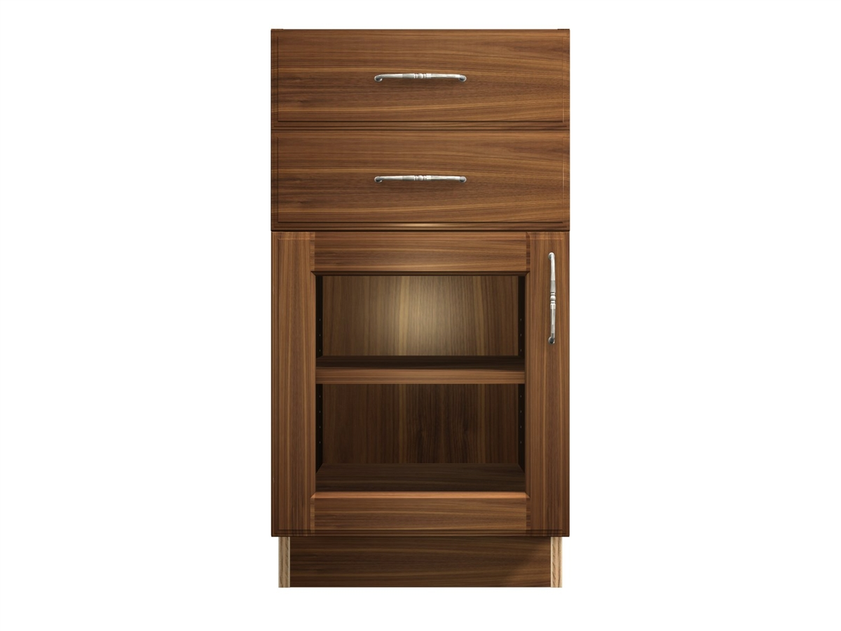 door and 2 top drawers base cabinet interior will the match wood type. Black Bedroom Furniture Sets. Home Design Ideas