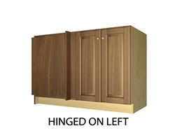 2 door blind corner base cabinet hinged left