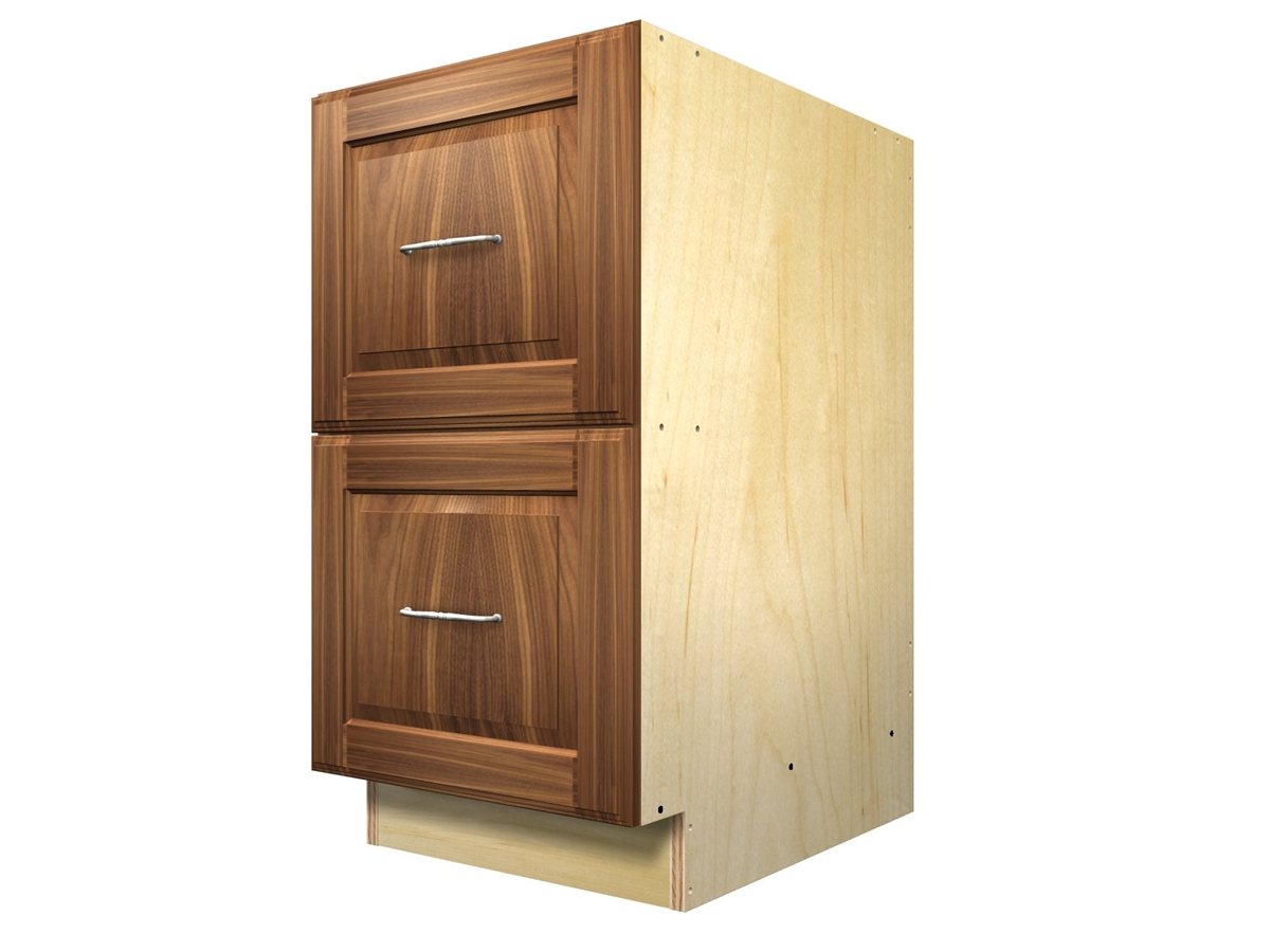 2 drawer base cabinet for Base cabinets