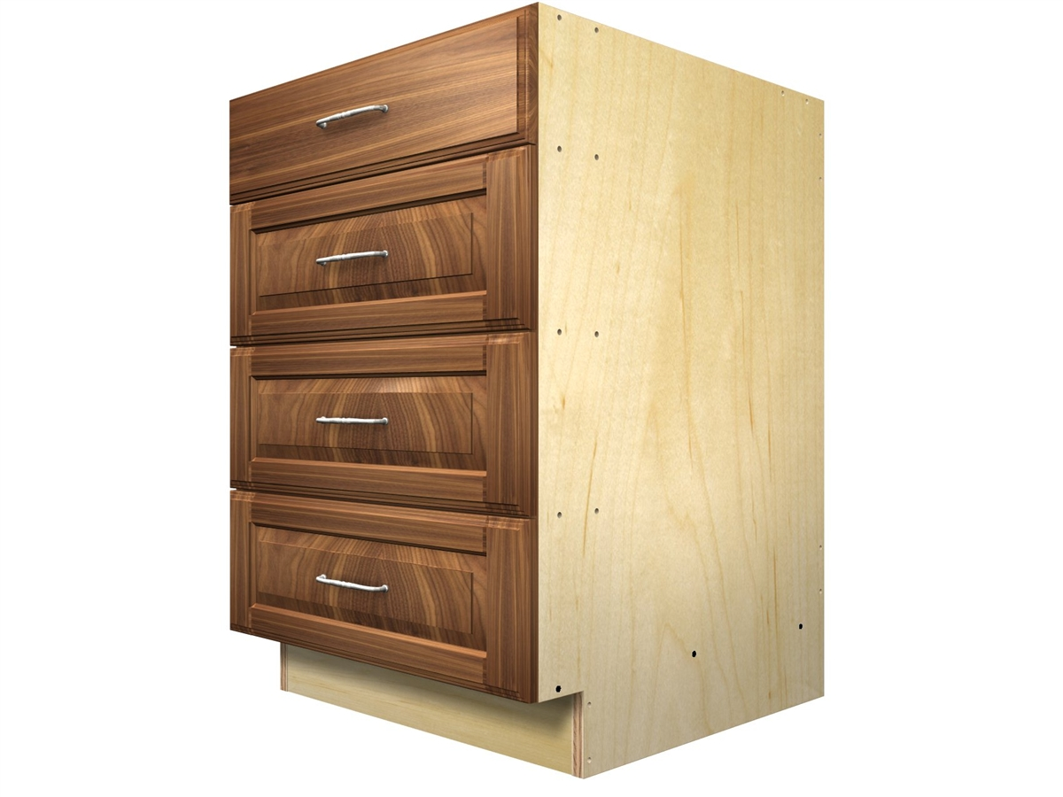 4 drawer base cabinet for Kitchen drawers