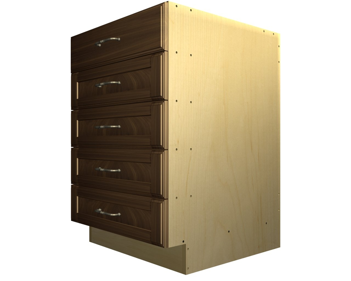 5 drawer base cabinet for Base cabinets