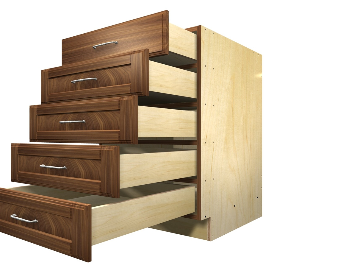 5 drawer base cabinet for Kitchen cabinet drawers