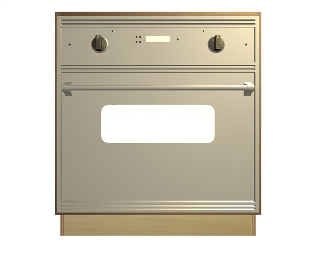 Wall oven and cooktop base cabinet for Base cabinets