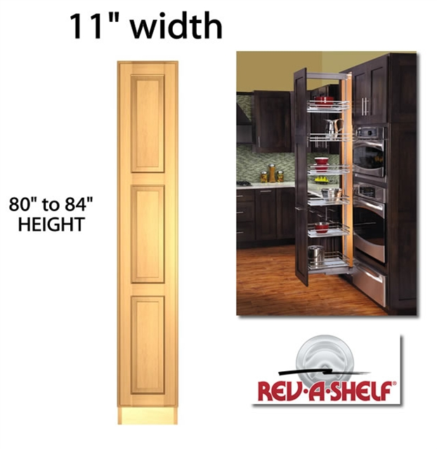 Pullout Pantry Cabinet 11 Wide 5773 Series