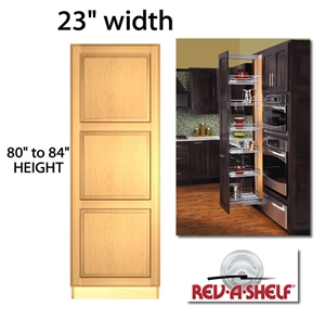 Pullout Pantry Cabinet 23 Wide 5773 Series