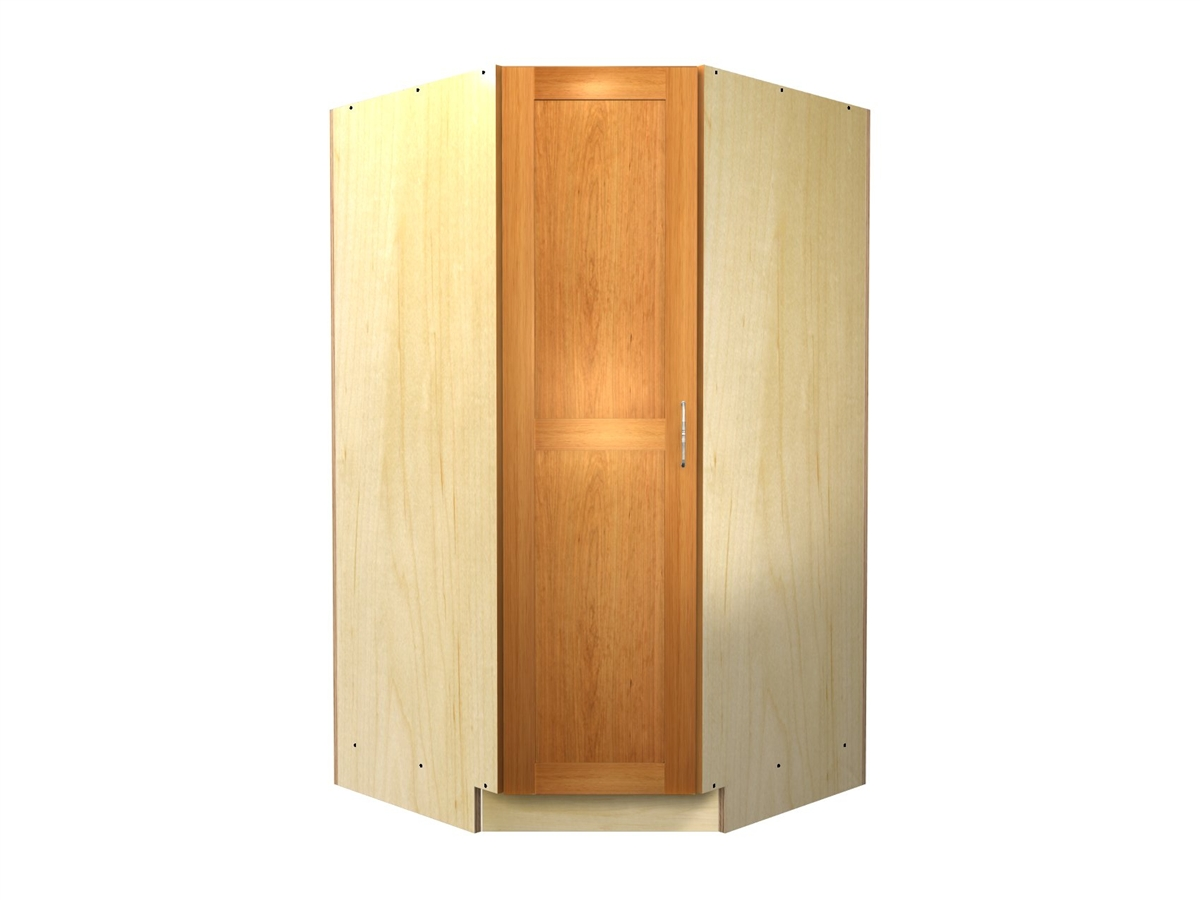 45 degree tall cabinet for Corner kitchen cabinet