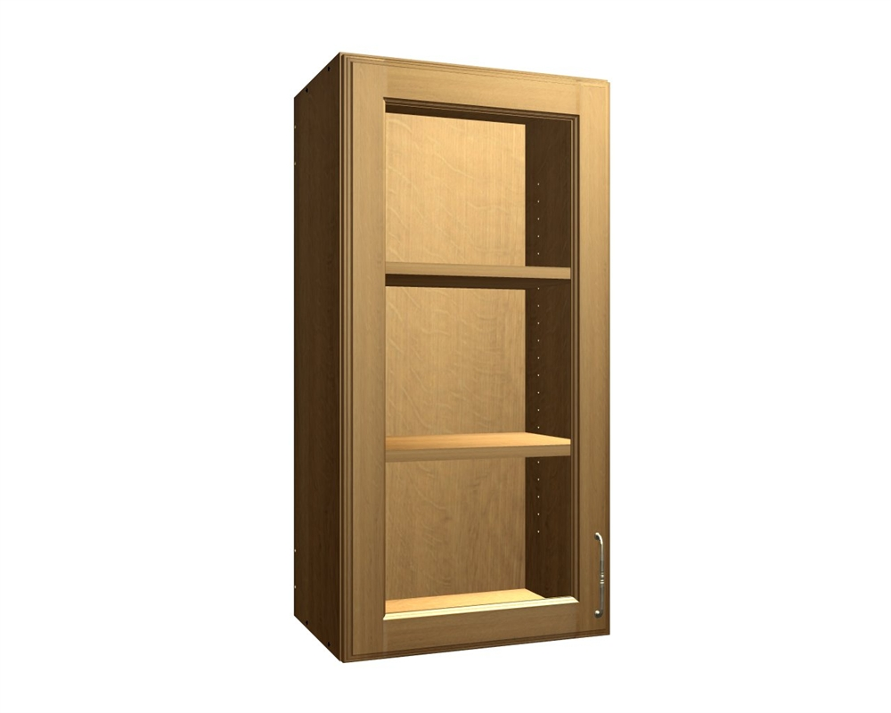 1 glass door wall cabinet for Wall cabinets