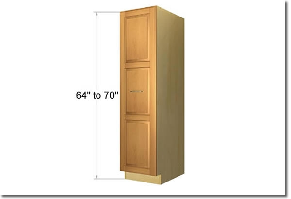 Pullout pantry cabinets - Tall kitchen pantry cabinet furniture ...