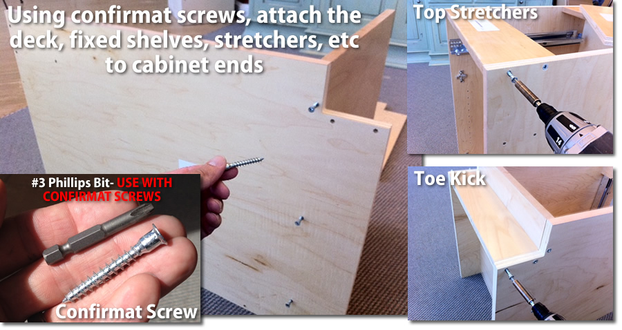 assemble the cabinet case