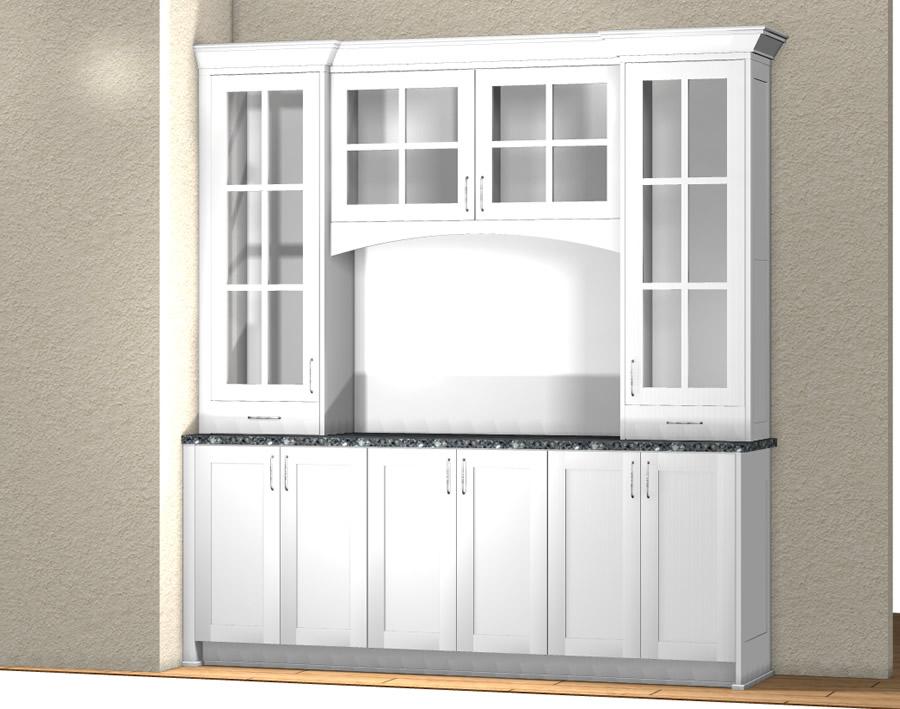 Coffee Bar Rta Cabinets