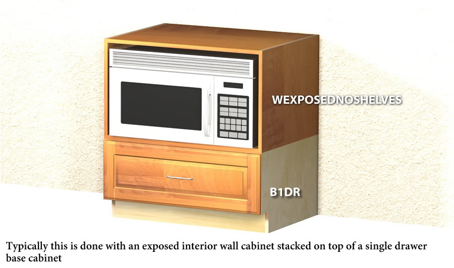 Undercounter Microwave