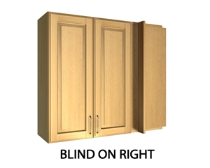 2 Door Right Blind Corner Wall Cabinet